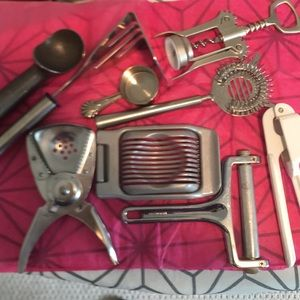 Assorted Kitchen/Bar Tools -